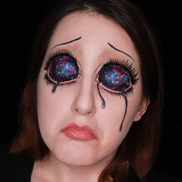 Universe in My Eyes Makeup Video by Ana Cedoviste