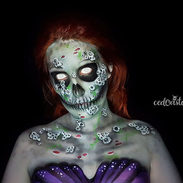 Zombie Mermaid Makeup by Ana Cedoviste