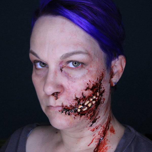 Zombie Halloween Makeup Tutorial Special FX Stacey Perry