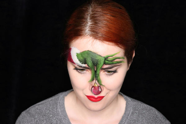 The Grinch Makeup