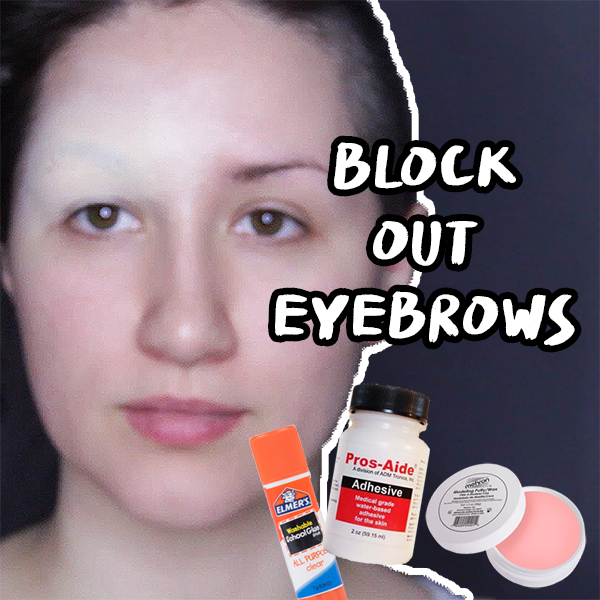 3 Ways to Block Out Your Eyebrows