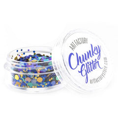 Art Factory Loose Chunky Glitter - Peacock (10 ml)