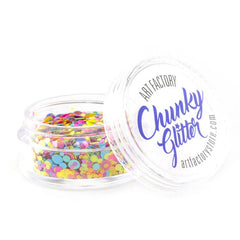 Art Factory Loose Chunky Glitter - Rave (10 ml)