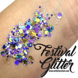 Art Factory Festival Glitter Gel - Peacock