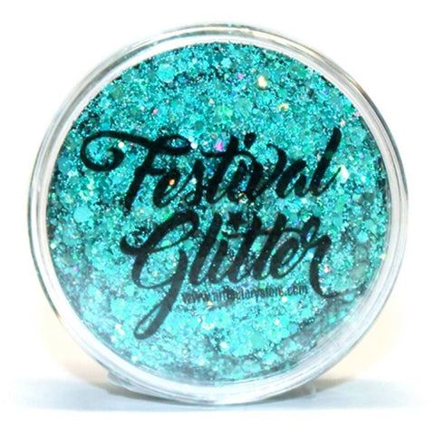 Art Factory Festival Glitter Gel - Blue Lagoon
