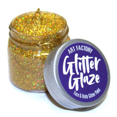 Art Factory Glitter Glaze -  Gold