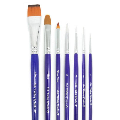 Art Factory Studio 7-Piece Professional Brush Set