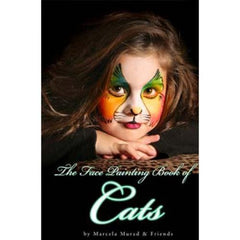 Silly Farm Face Painting Book of Cats - Murad