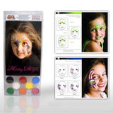 Snazaroo 8 Color Holiday Face Painting Kit