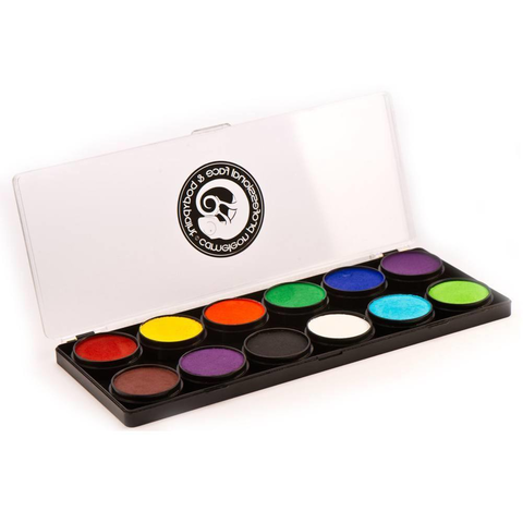 Cameleon 12 Color Build Your Own Face Paint Palette