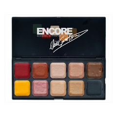 European Body Art Encore Neill Gorton Flesh Alcohol Palette