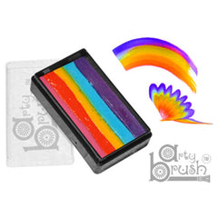 Silly Farm Arty Brush Cake Rainbow  (20 gm)
