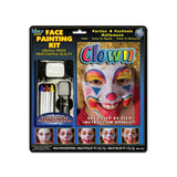 Wolfe FX Clown Face Painting Kit