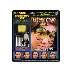 Wolfe FX Mardi Gras Face Painting Kit