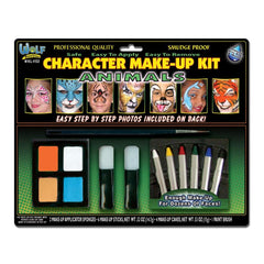 Wolfe FX Kids Animal Face Painting Kit