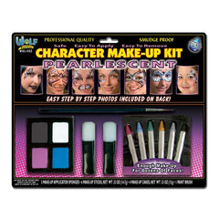 Wolfe FX Pearlescent Girl Face Painting Kit
