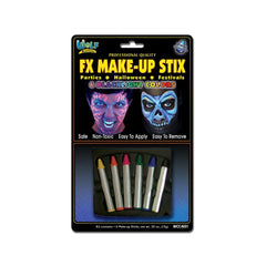 Wolfe FX Face Paint Crayons - Neon/Blacklight