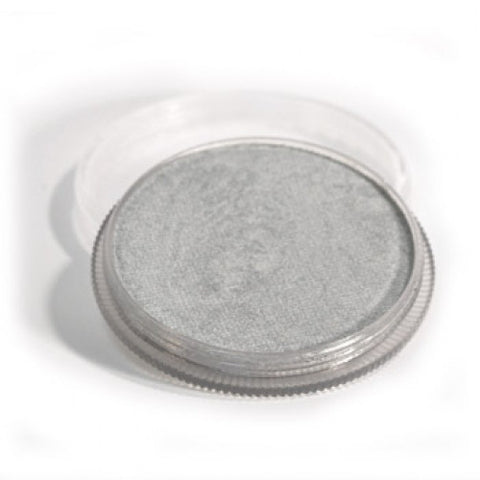 Wolfe Metallic Silver Face Paint M200