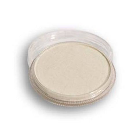 Wolfe Metallic White Face Paint M01