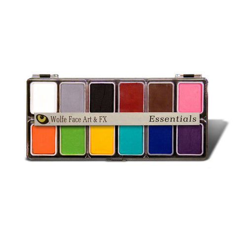 Wolfe 12 Color Essential Face Paint Palette