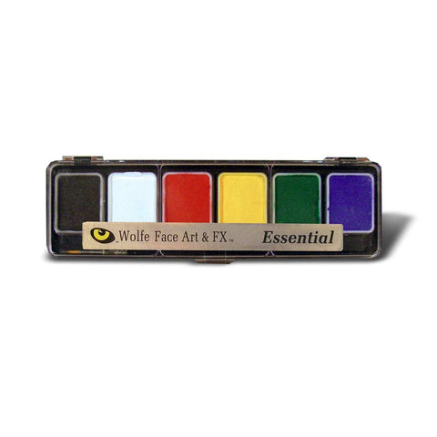 Wolfe 6 Color Essential Face Paint Palette