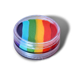 Wolfe Face Paint Rainbow Split Cake (45 gm)