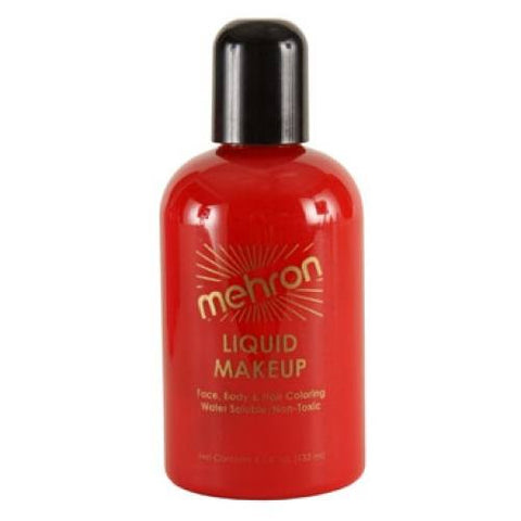 Mehron Red Liquid Makeup
