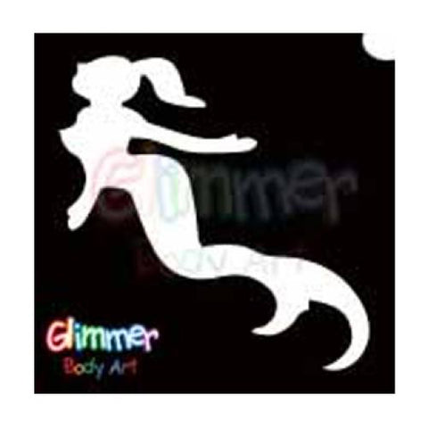 Glimmer Body Art Under The Sea Mermaid Stencils (5/pack)