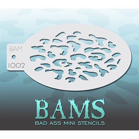 Bad Ass Mini Stencils - BAM1002 - Leopard