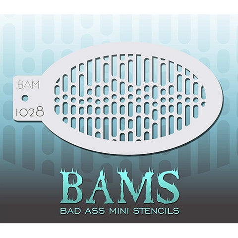 Bad Ass Mini Stencils - BAM1028 - Data Stream