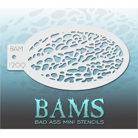 Bad Ass Mini Stencils - BAM 1209