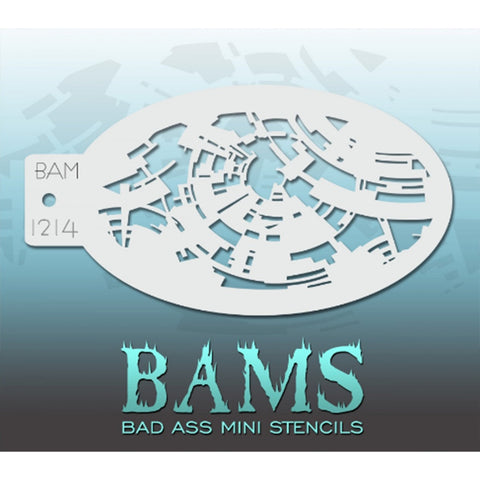 Bad Ass Mini Stencils - BAM 1214