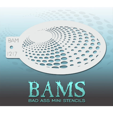 Bad Ass Mini Stencils - BAM 1217