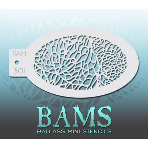 Bad Ass Mini Stencils - BAM 1301