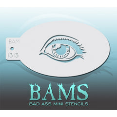 Bad Ass Mini Stencils - BAM 1313 - Eye