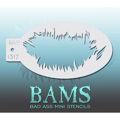 Bad Ass Mini Stencils - BAM 1317