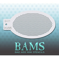 Bad Ass Mini Stencils - BAM2035 - Mini Dots