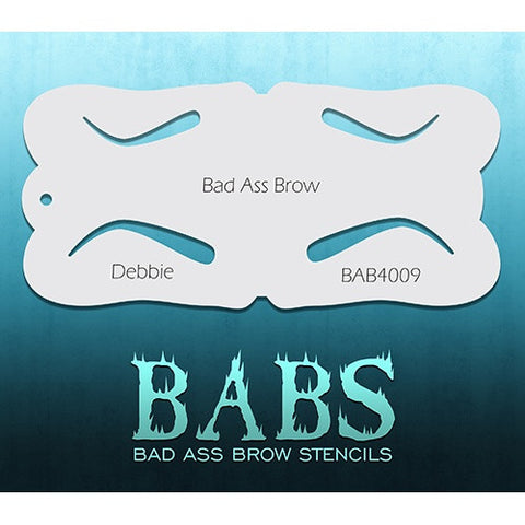 Bad Ass Brow Stencils - BAB4009 - Debbie