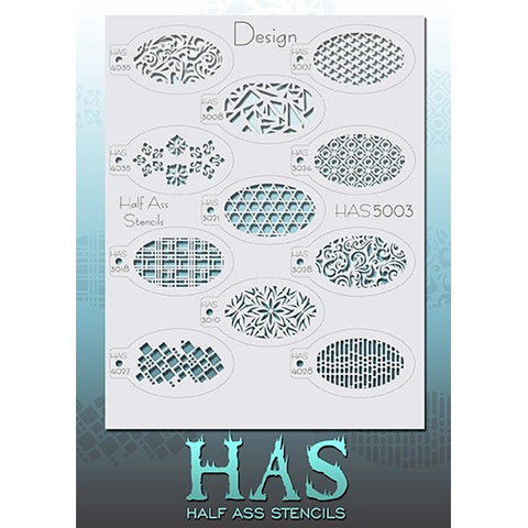 Half Ass Stencils - HAS5003 Design