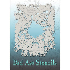 Bad Ass Full Size Stencils - BAD6034 - Splatter