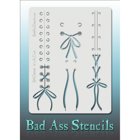 Bad Ass Full Size Stencils - BAD6056 - It's a Cinch