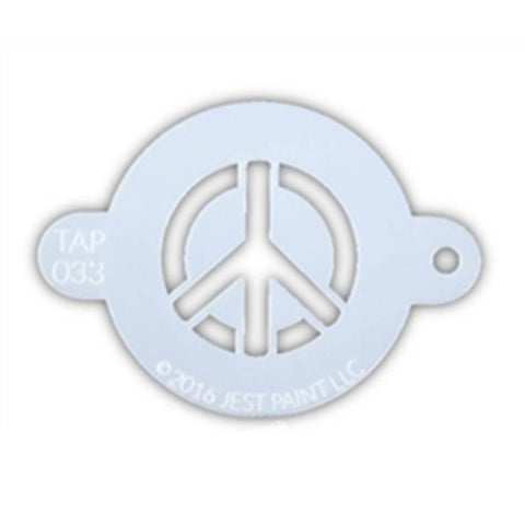 TAP Face Paint Stencil - Peace Sign (033)