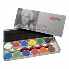 Ben Nye 12 Color MagiCake Face Paint Palette