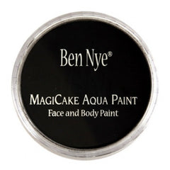 Ben Nye Licorice Black Magicake Face Paint LA-3 (0.77 oz)