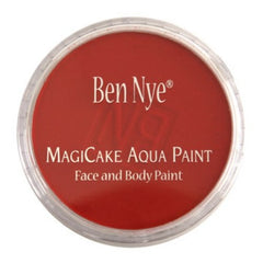 Ben Nye Bright Red Magicake Face Paint LA-5 (0.77 oz)