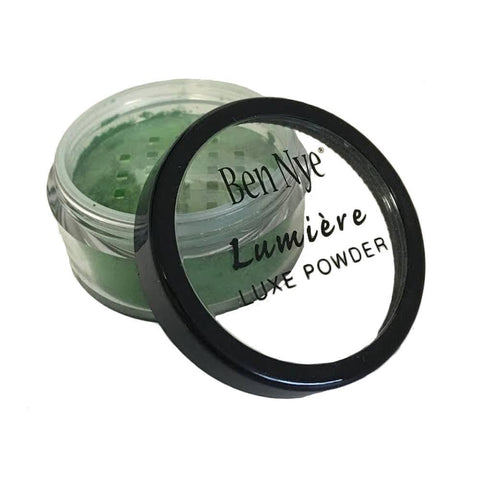 Ben Nye Chartreuse Lumiere Luxe Shimmer Powder LX-8 (0.21 oz)