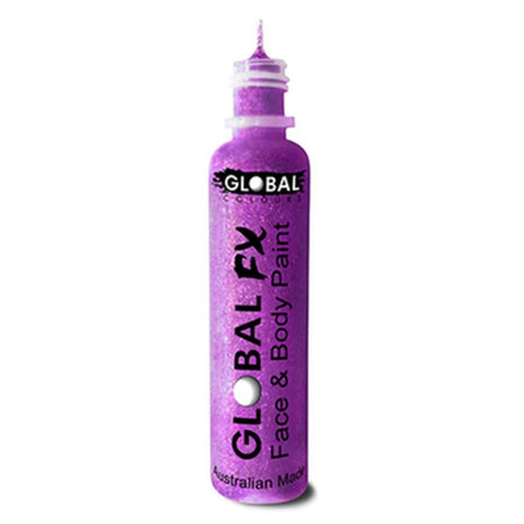 Global FX Purple Glitter Gel (36 ml)