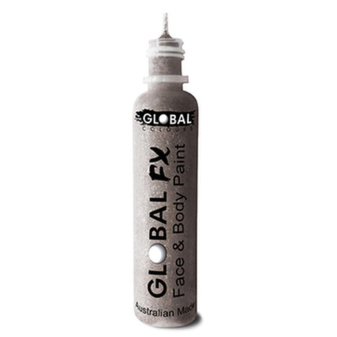 Global FX Silver Glitter Gel (36 ml)