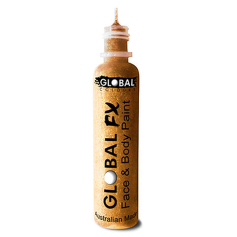 Global FX Holographic Gold Glitter Gel (36 ml)
