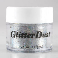 Mehron Holographic Silver Glitter Dust  (7 gm)